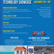 Trenchless Technology Demos and Premier Golf Tournament Slated for November