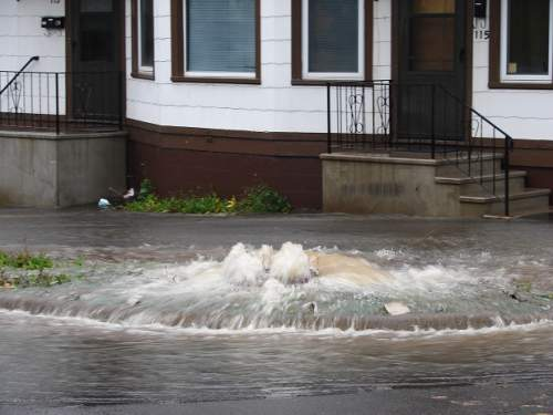 One of Detroit's neighboring City underwent a sanitary sewer overflow earlier this week.