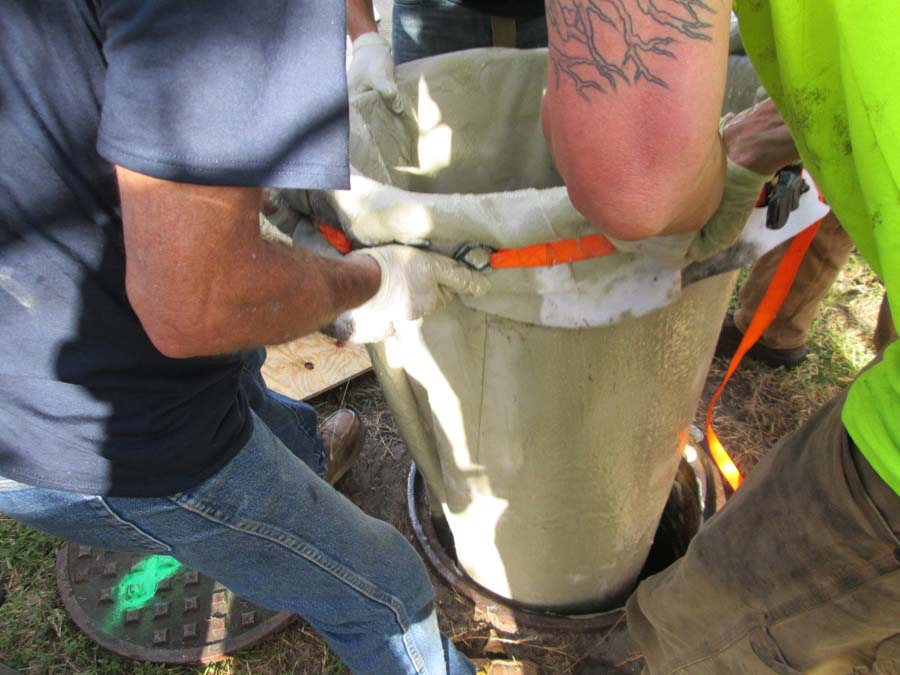 Manhole Rehabilitation is saving cities time and money